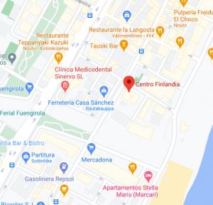 Kartta Par1 toimistolle. Klikkaa Google Mapsiin